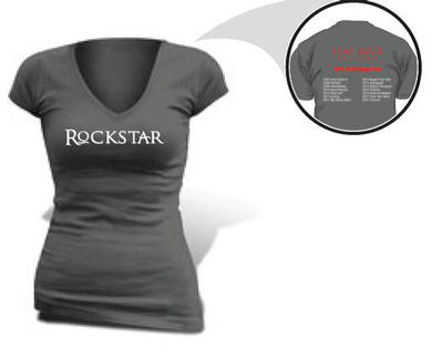 <pre>Ladies Rockstar T-Shirt</pre>